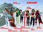 Alpha Flight 9 girls only