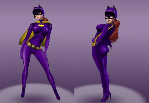 Batgirl Barbara Gordon (TV Yvonne Craig)