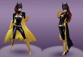 Batgirl Barbara Gordon (New 52, BoP, Arkham)