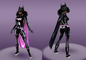 Batgirl Tiffany Fox