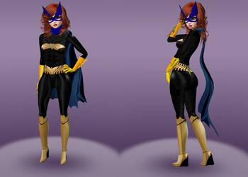 Batgirl Barbara Gordon Rebirth