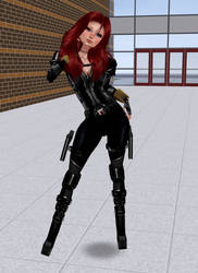 New Black Widow by Mary-Margret