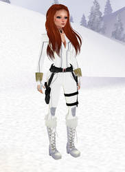 New Black Widow winter by Mary-Margret