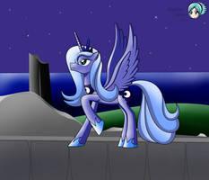 Teen Princess Luna by DarkenGales