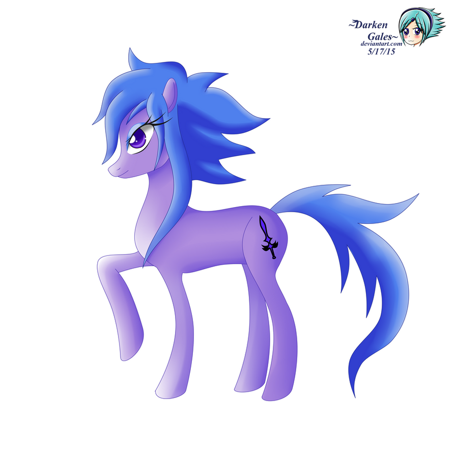 DarkenGales Pony by DarkenGales