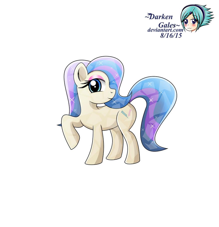 Crystal Pony Glamour Gleam by DarkenGales