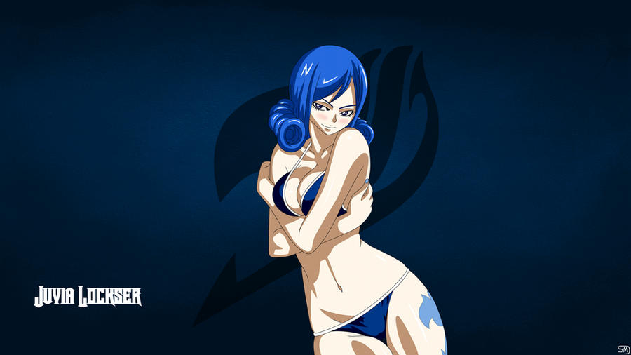 Fairy tail juvia lockser wallpaper by shmartin on deviantart - Fairy tail juvia swimsuit ...