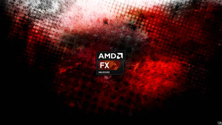 AMD FX Series Wallpaper New Badge Version by shmartin
