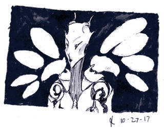 Ink/Goretober Day 27: Mutation by Scorchwind58