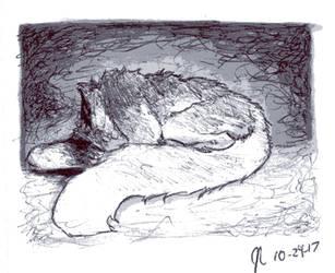 Ink/Goretober Day 29: Decapitation by Scorchwind58