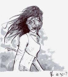 Ink/Goretober Day 30: Bandages by Scorchwind58