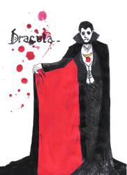 Sad Dracula by abjadlupu