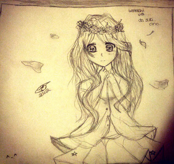 Sketch:.Blossoms by animeduchess14