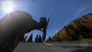 running man by g4r44