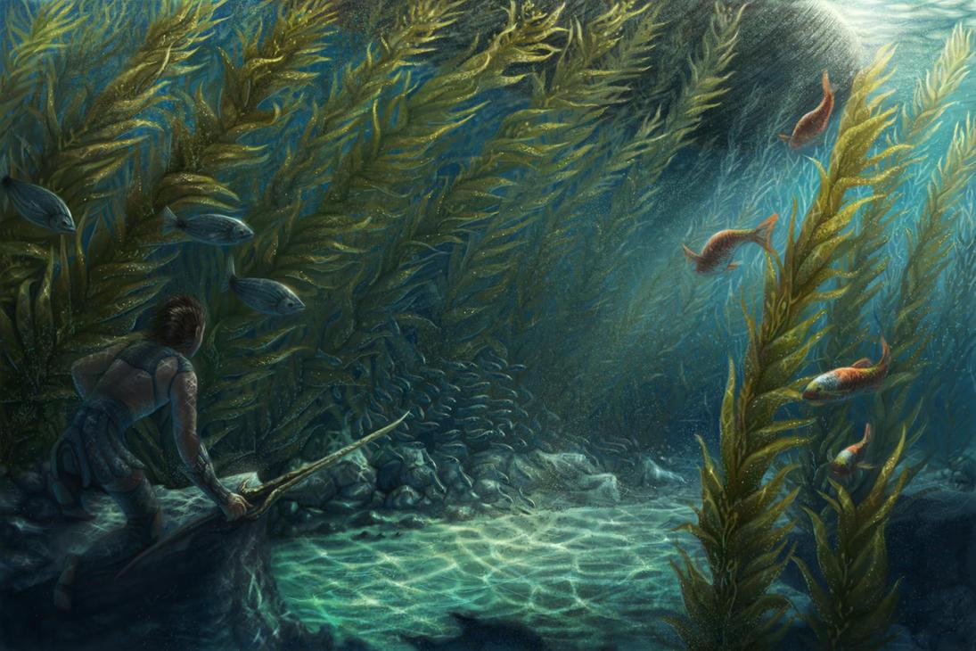 Underwater by Sarahlyyn