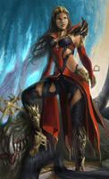 Wizard by SaraLynArt