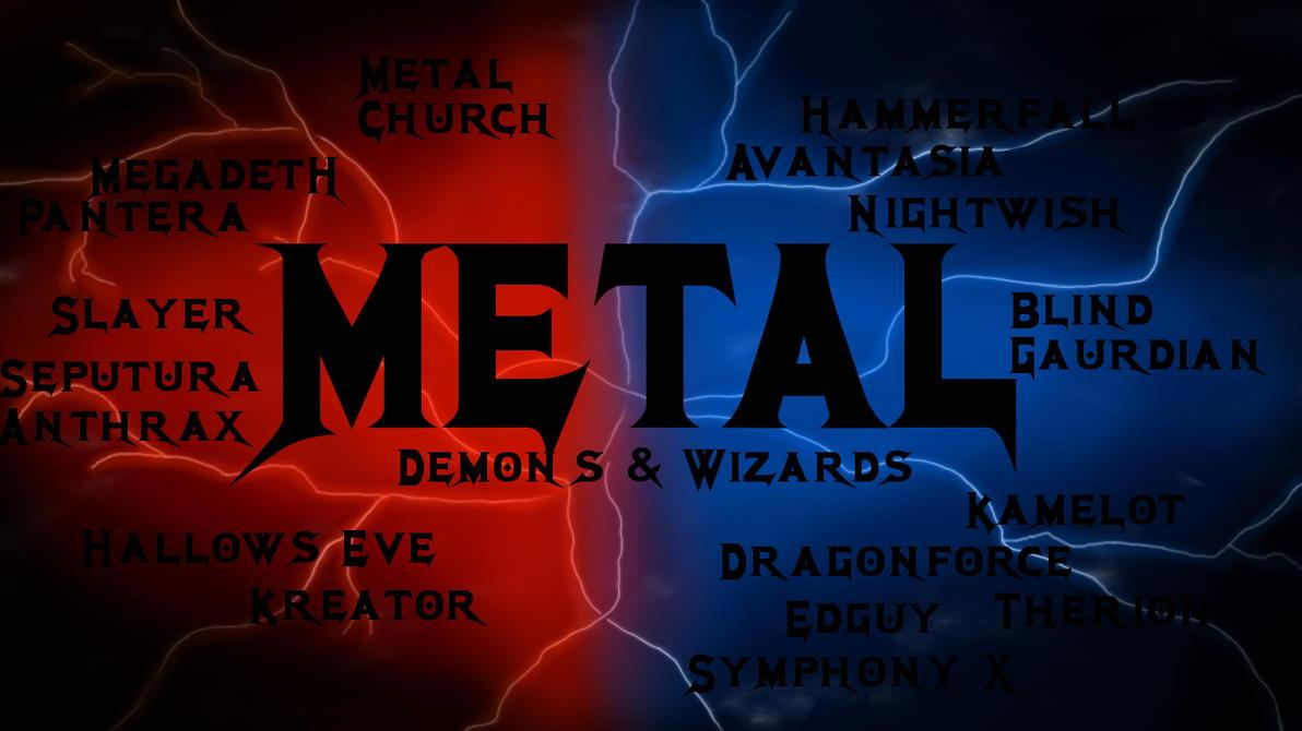 METAL WALLPAPER By Zunigadragon
