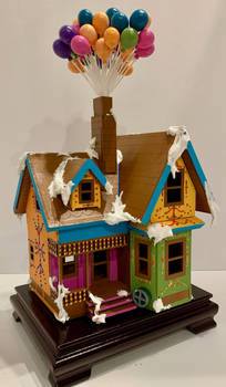 Carl's House from Up (faux gingerbread)