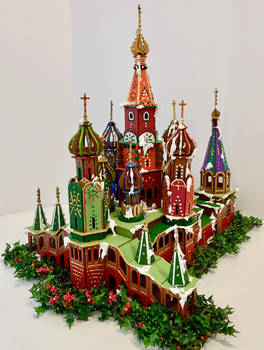 St Basil's Cathedral Faux Gingerbread