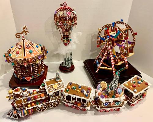Faux Gingerbread Carnival