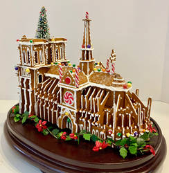 Notre Dame (Faux Gingerbread)
