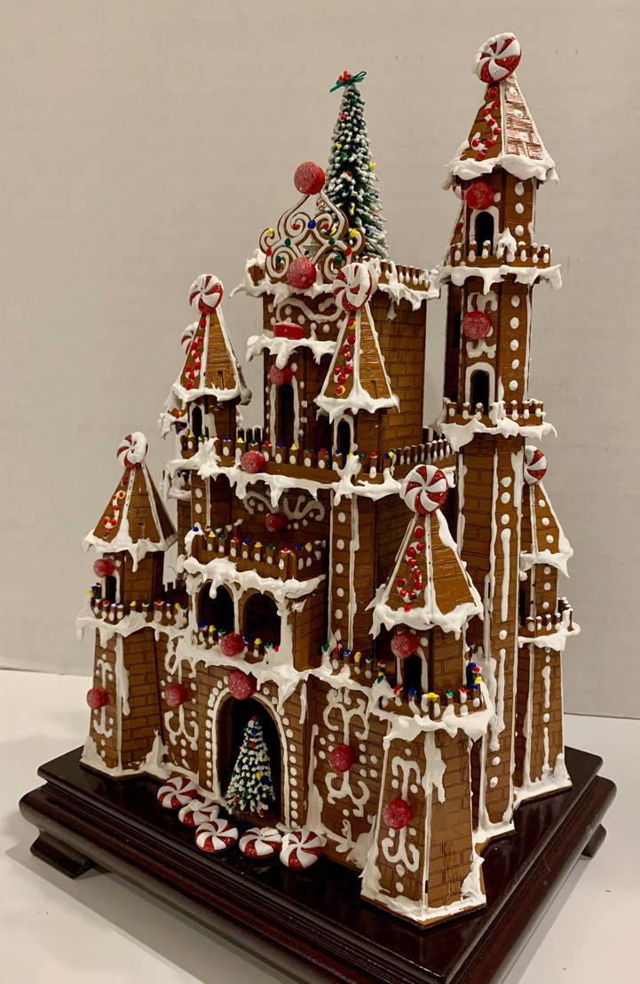 Christmas Castle (faux gingerbread)