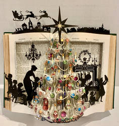 Victorian Christmas (Book Folding)