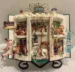 Grimm's Fairy Tales (folded book)