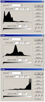 Using Histogram and Levels