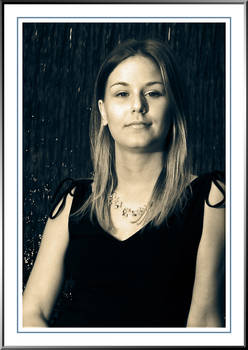 Lindsey - Portrait in Blue