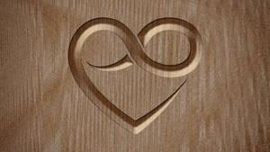 Polyamory Wallpaper - Wood
