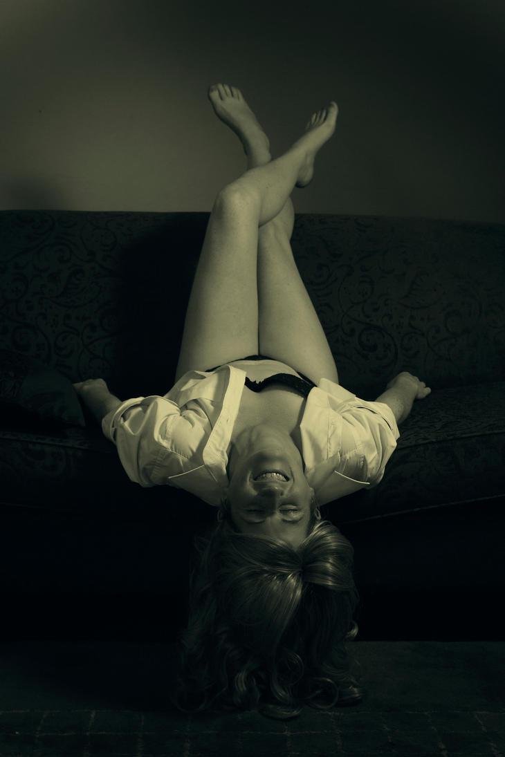 Ebony Upside Down by Tiberius47