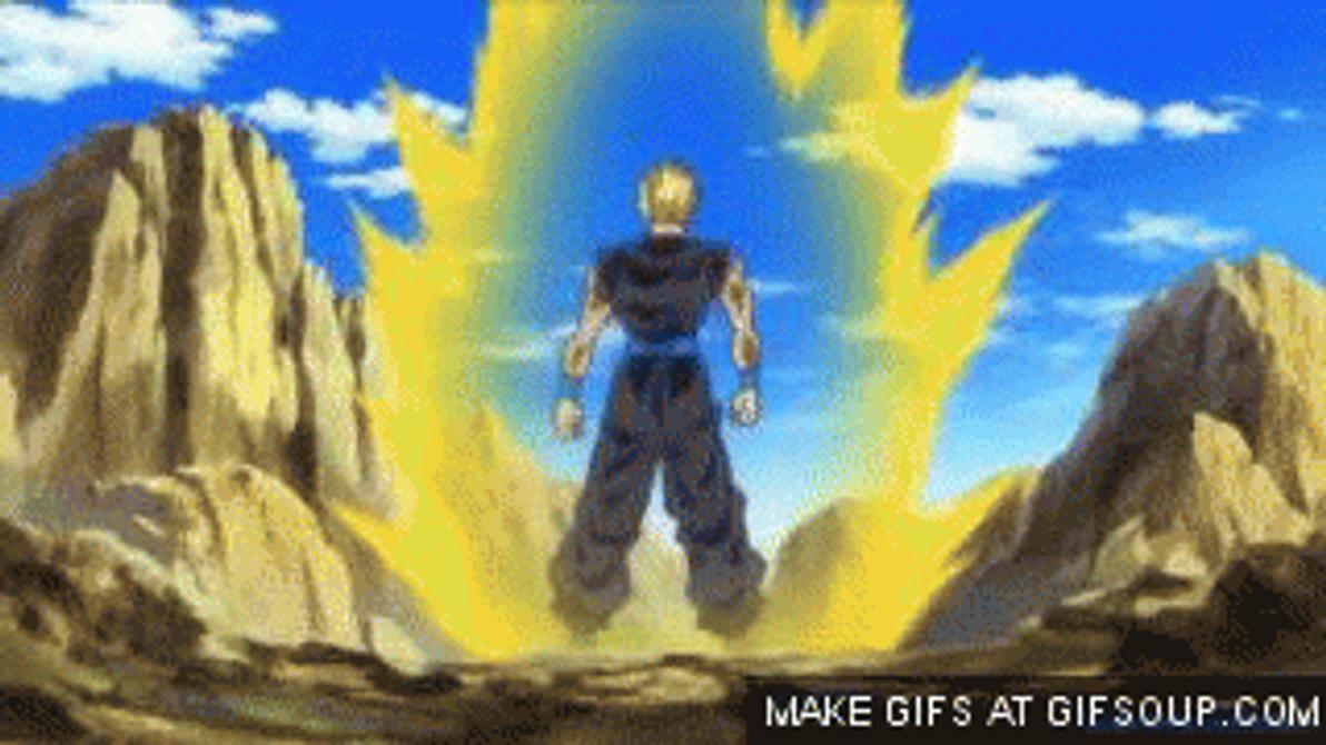 Super saiyan 4 gohan gif by superaustin15 on deviantart - Dragon ball gohan super saiyan 4 ...