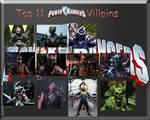 MY TOP 11 POWER RANGERS VILLAINS