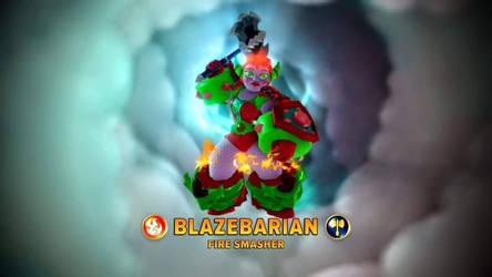 MY 6TH IMAGINATOR: BLAZEBARIAN by superaustin15