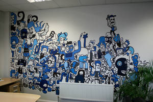 My wall mural design by Blade51