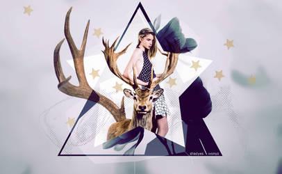deer abstract