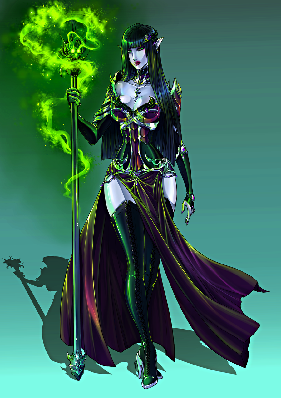 CM: Venomous Black Rose by Lunareth