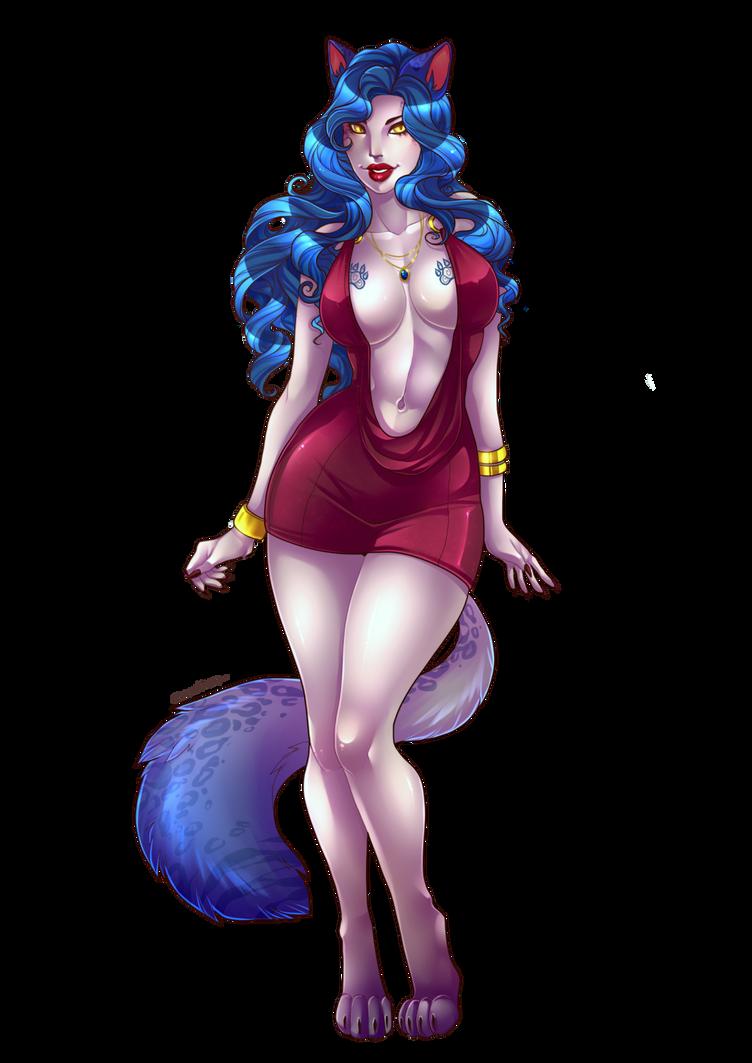 CM catgirl by Lunareth