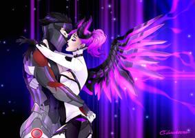 CM: Mercy x Genji by Lunareth