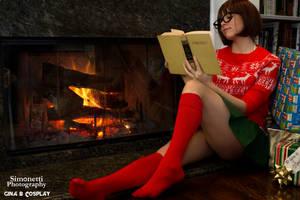 Christmas Velma by GinaBCosplay