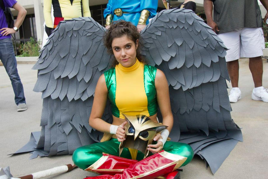 Hawkgirl by GinaBCosplay