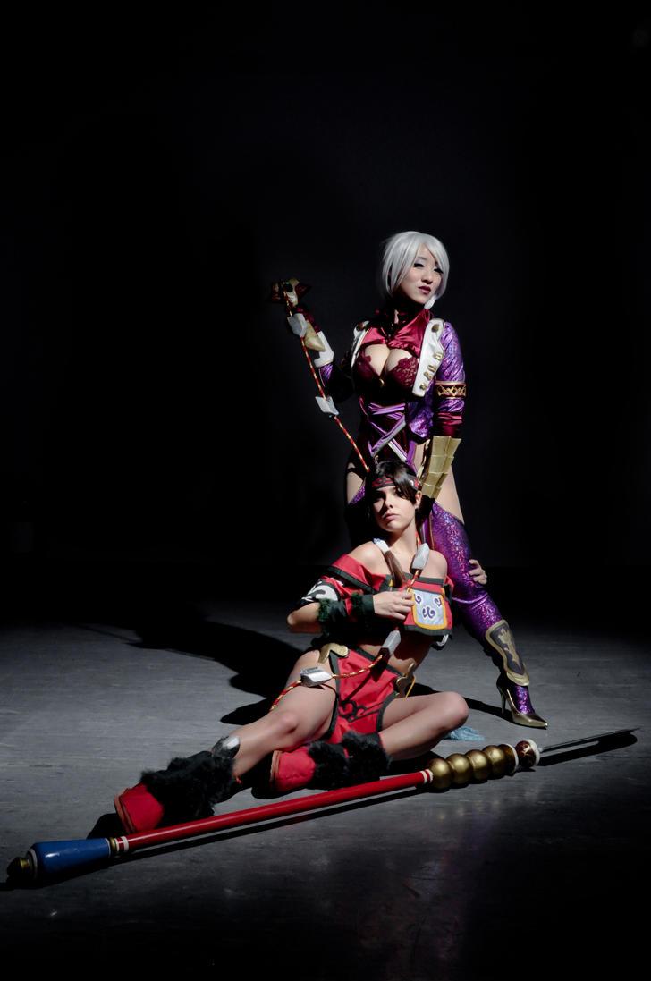 Seung Mina and Ivy by GinaBCosplay