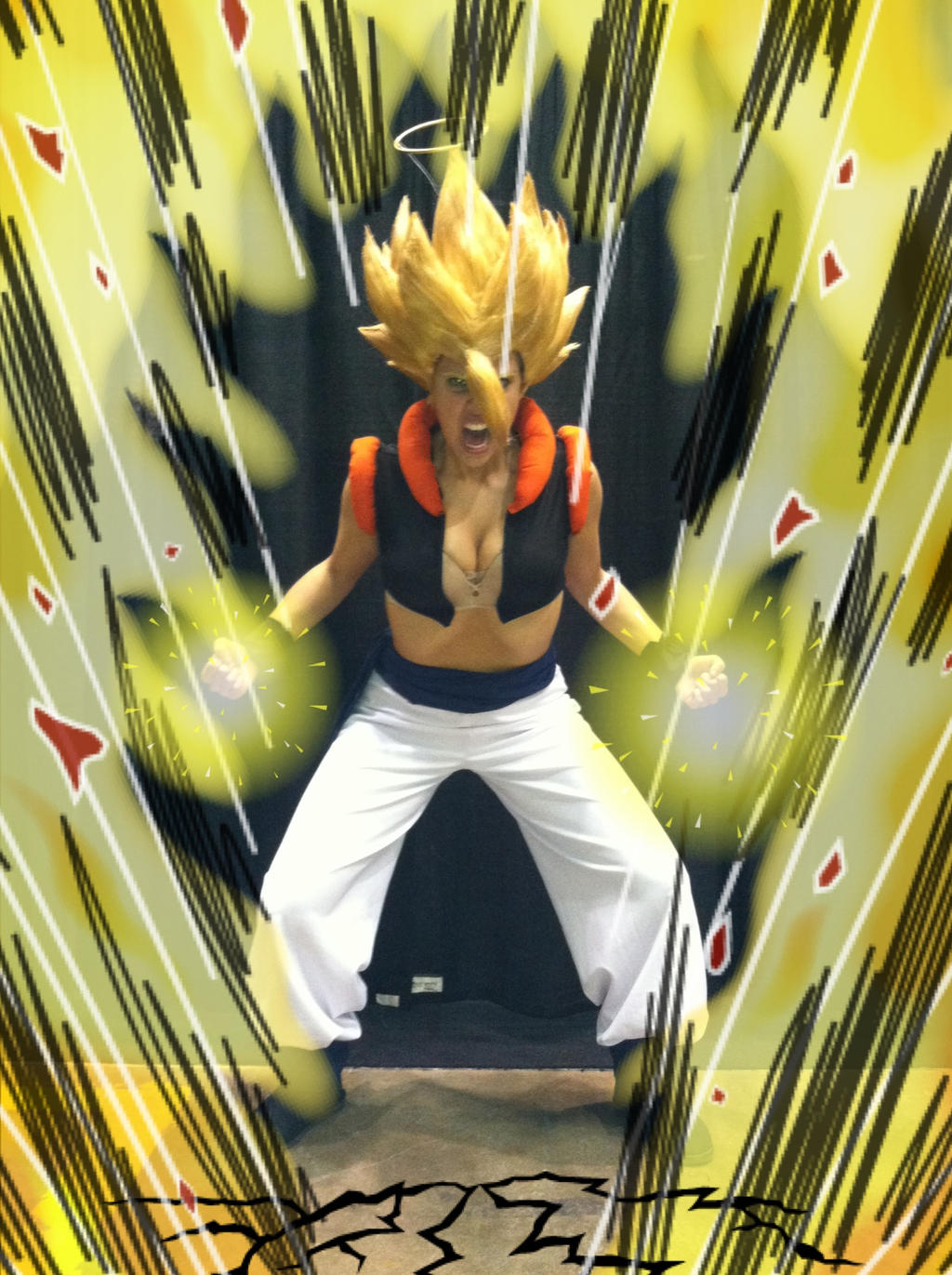 Super Saiyajin Gogeta by GinaBCosplay
