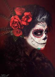 Sugar skull by GinaBCosplay