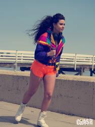 Walkman Run by GinaBCosplay