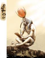 Thoth (Djehuty) by LaraVan