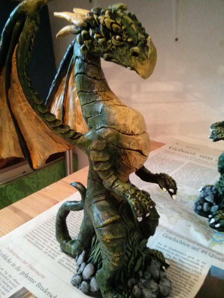 green dragon by CyanBlutgeissel