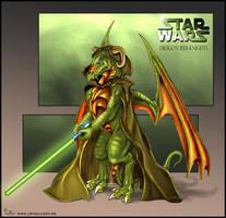 Dragon Jedi Knights by CyanBlutgeissel