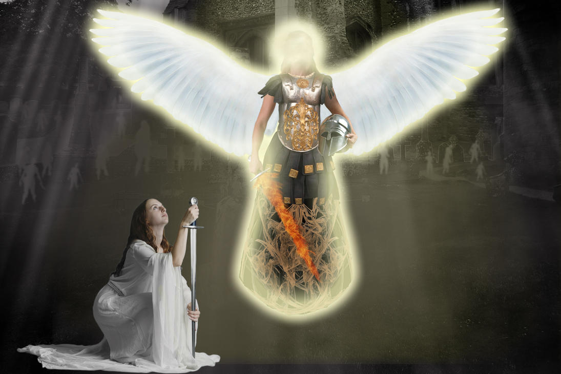 Guardian Angel by Arckanda